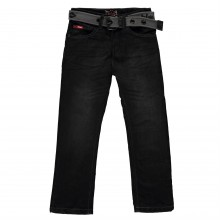 Lee Cooper Belted Straight Jeans Junior