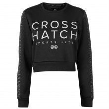 Crosshatch Clio Cropped Sweater Ladies