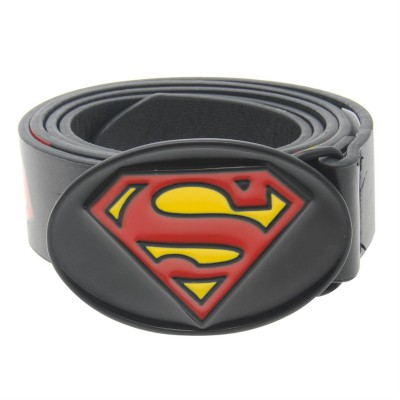 DC Comics Superman Print Belt Mens