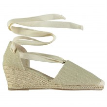 Beppi Canvas Wedges Ladies
