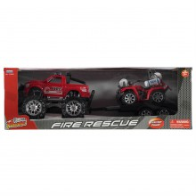 Fire Res Jeep  And  Quad Bike