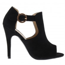 Full Circle Open Toe Heels