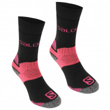 Salomon Heavyweight 2 Pack Walking Socks Ladies