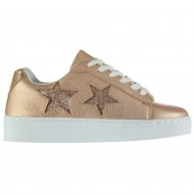 Fabric Two Star Ladies Trainers