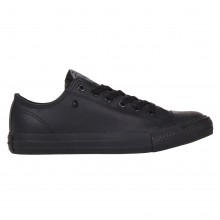 Dunlop Leather Low Trainers Ladies
