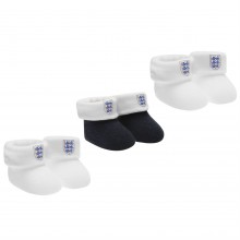 England 3 Pack Booties Baby