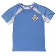 Source Lab Manchester City Poly T Shirt Junior Boys
