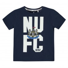 Team Newcastle United Crest T Shirt Infant Boys