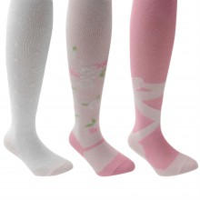 Miss Fiori 3 Pack Balerina Tights Girls