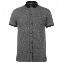 Firetrap Blackseal Full Placket Polo Shirt