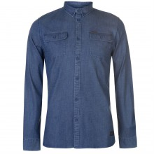 Firetrap Blackseal Denim Shirt