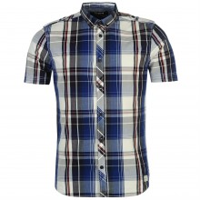 Firetrap Blackseal Light Weight Check Shirt