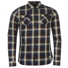 Firetrap Blackseal Large Check Shirt