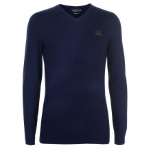 Born Rich Indium Knitted Jumper Mens