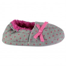 Crafted Full Back Slippers Child Girls