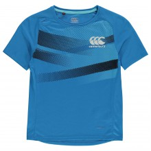 Canterbury Graphic Poly T Shirt Junior Boys