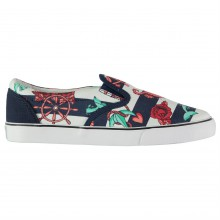 Iron Fist Iron Ladies Flat Canvas Shoes