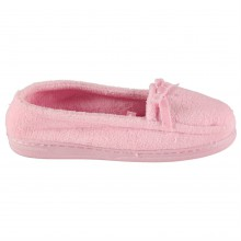 M Collection Towelling Ladies Slippers