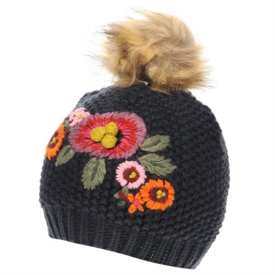 Crafted Essentials Embroidery Hat Child Girls