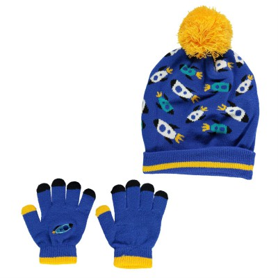 Crafted Essentials Space Beanie Set CHD74