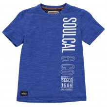 SoulCal Long Line T Shirt Junior Boys