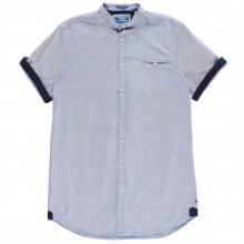 D555 Dwight Oxford Short Sleeve Shirt Mens