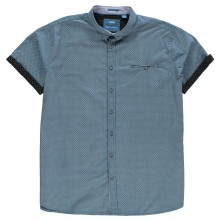 D555 Limburg Print Short Sleeve Shirt Mens