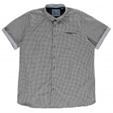 D555 Skyler Gingham Short Sleeve Shirt Mens
