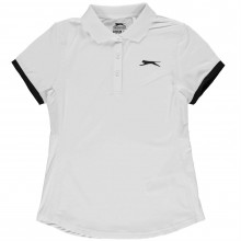 Slazenger Court Polo Shirt Junior Girls