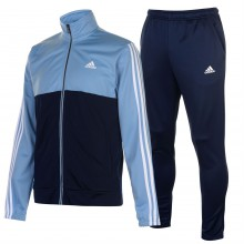adidas Back 2 Basics 3 Stripes Tracksuit Mens