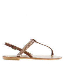 Firetrap Blackseal Rose Toe Post Sandals