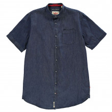 D555 Astra Short Sleeve Denim Shirt Mens