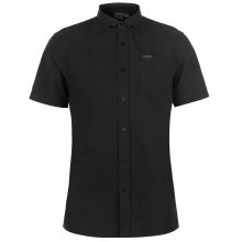 Firetrap Short Sleeve Oxford Shirt Mens