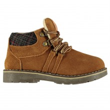 Crafted Suede Boots Infant Boys