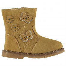 Crafted Suede Boots Infant Girls