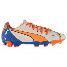 Puma Evo Power 4.2 Firm Ground Football Boots Junior Boys