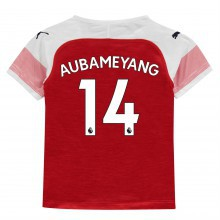 Puma Arsenal Pierre Emerick Aubameyang Home Shirt 2018 2019 Junior
